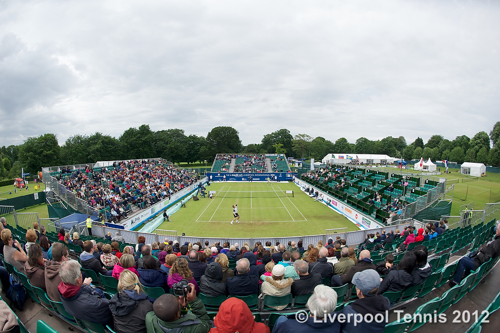 Tennis - Liverpool International Tennis Tournament 2012 - Day 3 - Men's Final - Kevin Anderson (RSA) v Lukas Lacko (SVK)