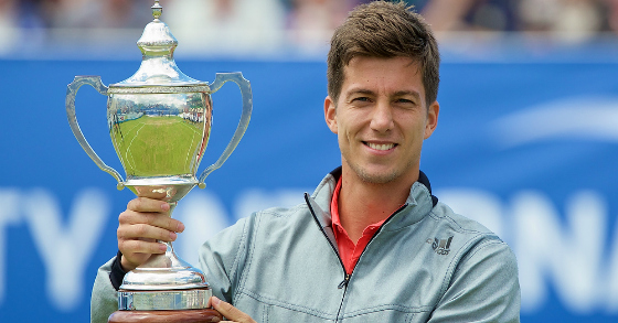 BEDENE CELEBRATES FIRST VICTORY AS A BRIT IN LIVERPOOL
