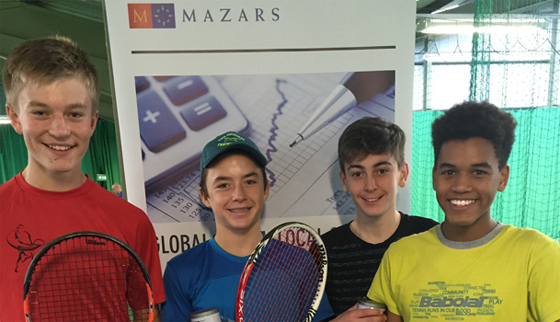 First ever U14s Tennis Europe Doubles event…