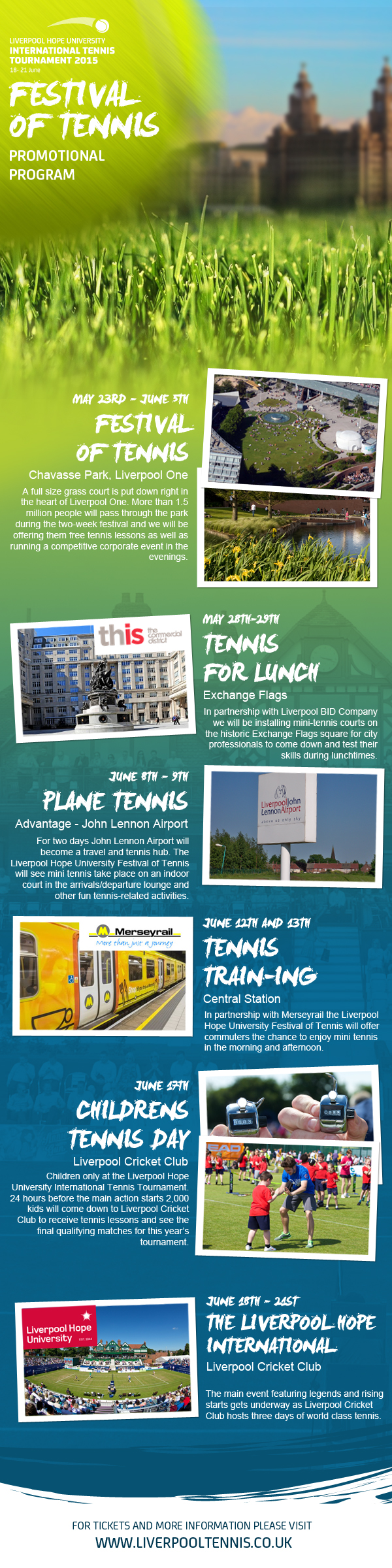 Liverpool Tennis - promotional program
